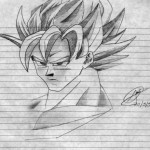 Dibujo de Goku
