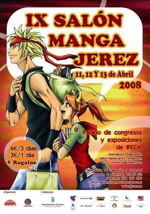 cartel salon manga