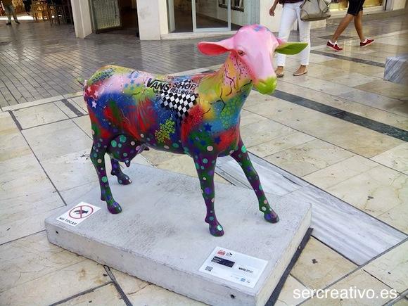 Cabra de Regina Lucas patrocinada por Vans Málaga