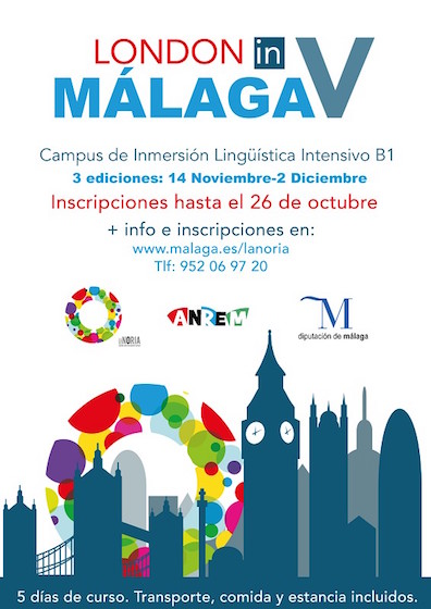 curso de inmersión lingüística 'London in Málaga'