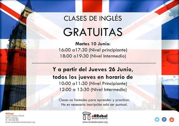 Free English Classes in Málaga
