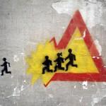 Escolares en fuga
