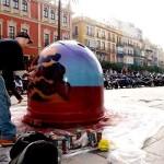 Concurso de graffitis en los contenedores de vidrio de Sevilla