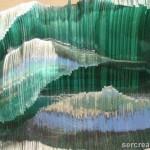 Esculturas: Olas de cristal