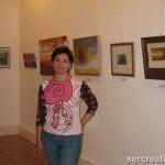 Lola Moreno en la Casa Condesa de Torre-Isabel de Motril