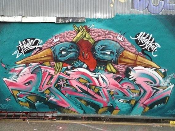 Ganadores concurso Graffiti Desencaja