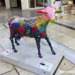Oh my goat, Cabras en calle Larios