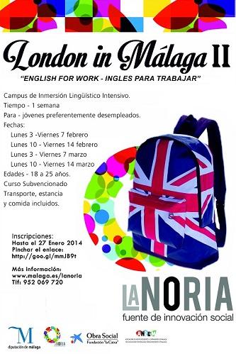 Campus de Inmersión Lingüístca London In Málaga.