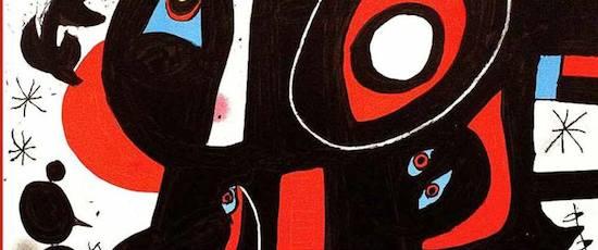 Muestra de carteles del pintor Joan Miró