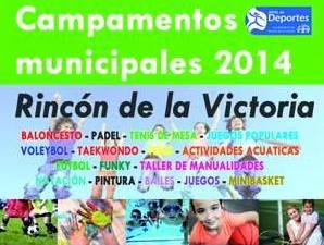 Campamentos en Rincon de la Victoria 2014