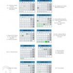 Calendario escolar 2014/2015 en Málaga