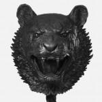 Las cabezas de los animales del zodiaco chino en Málaga