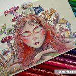 Dibujo a lápiz coloreado con Polychromos